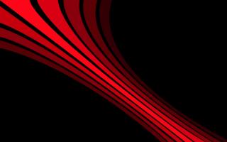 Абстракция черного и красного