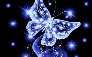 Бабочка абстракция