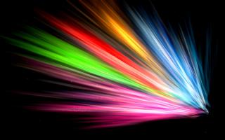 Радужные лучи