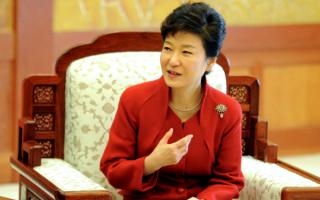 Пак Кын Хе - первая женщина-президент Южной Кореи