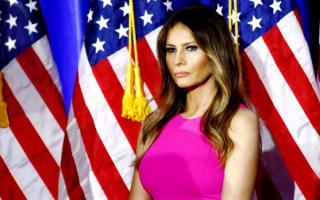 Меланья Трамп - супруга 45-го президента США Дональда Трампа