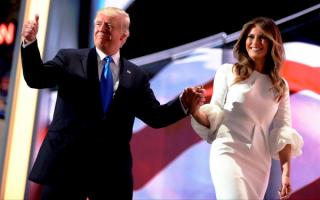 Новый президент и первая леди Соединенных Штатов Америки
