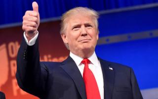 Сорок пятый президент США Дональд Трамп