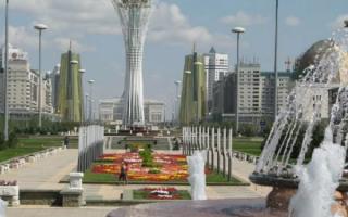 Алматы современный город