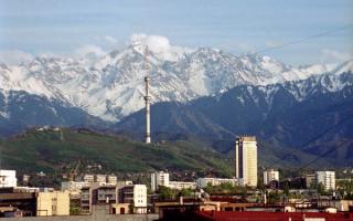 Алматы и горы