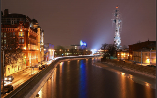 Город Владимир Ночью