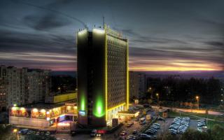 Город  Владимир ночной