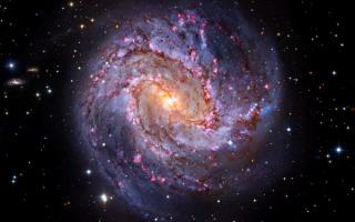 Спиральная галактика Messier 83