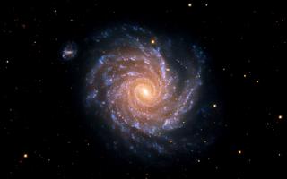 Спиральная галактика NGC 1232