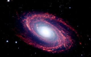 Спиральная галактика Боде