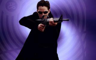 Мужчина с винтовкой