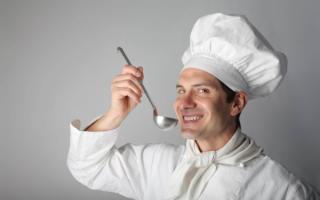 Мужчина повар