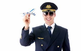 Мужчинна с самолетом