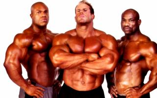 Сильные мужчины