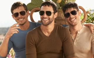 Мужчины в стильных очках