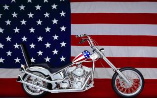 Мотоцикл Харлей - Дэвидсон  Америка