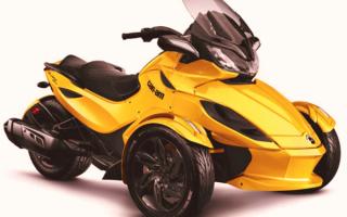 Новый трицикл Can-Am Spyder