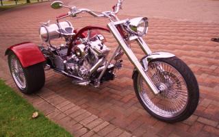 Трехколесный мотоцикл Харлей - Дэвидсон