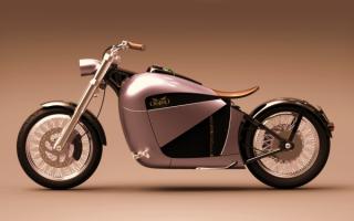 Электрический мотоцикл Orphiro Electric Cruiser