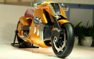 Мотоцикл Suzuki Biplane