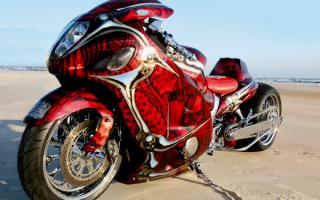 Мотоцикл Suzuki GSXR 1000