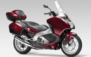 Мотоцикл Хонда Интегра