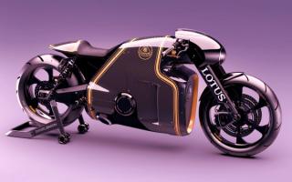 Мотоцикл Lotus C-01