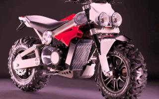 Мотоцикл-вездеход Brutus 750 EI