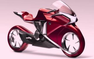 Новый мотоцикл Honda V4