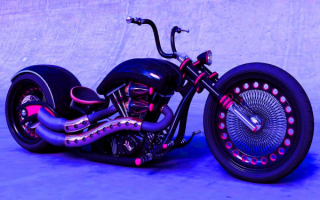 Красивый мотоцикл