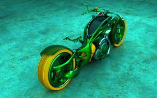 Прикольный мотоцикл