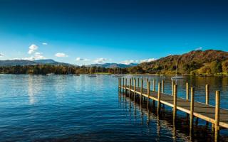 Озеро Уиндермир в Англии