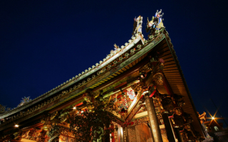 Красивый китайский дом