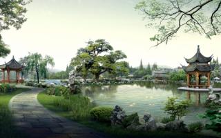 Природный пейзаж