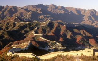 Китайская стена в горах
