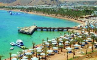 Побережье Красного моря в Шарм Эль Шейхе