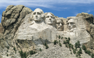 Монумент президенты США