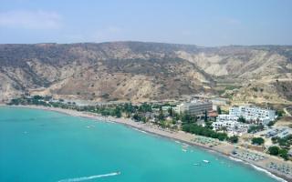 Кипр, отель, пляж