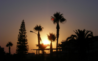 Вечерний Кипр