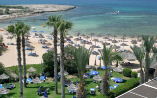 Курортная панорама Кипра