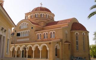 Кипр. Церковь в Никосии