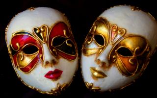 Маскарадные маски Венеции