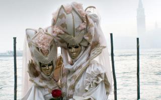 Маскарад Венеции