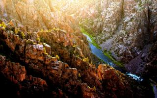 Речной каньон