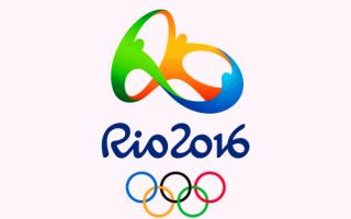 Эмблема Олимпийских Игр в Рио-де-Жанейро