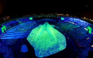 Церемония открытия олимпийских игр в Рио-де-Жанейро