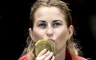 Инна Дериглазова завоевала олимпийское золото в индивидуальных соревнованиях рапиристок