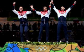 Российские рапиристы завоевали олимпийское золото