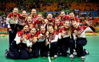 Российские гандболистки - олимпийские чемпионки 2016