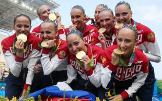 Российские синхронистки - олимпийские чемионки 2016
